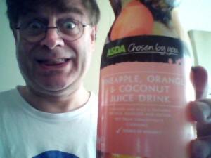 Pineapple, Orange and Coconut Juice