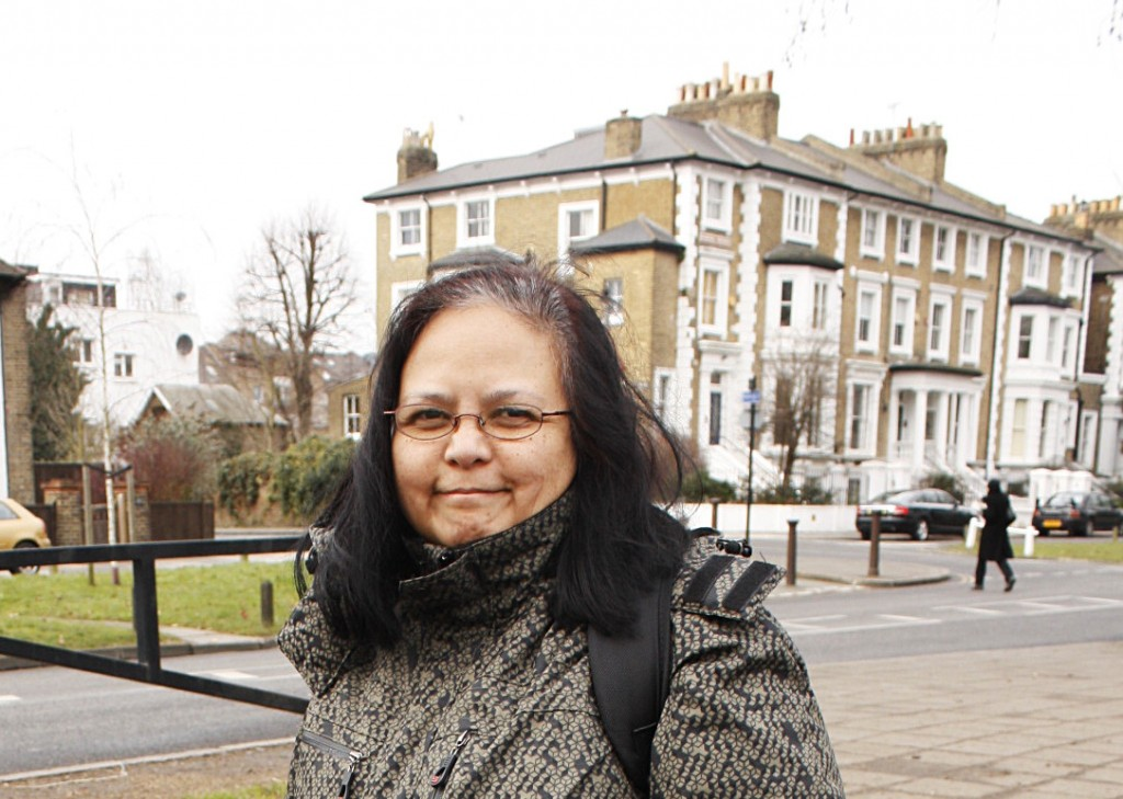 Kathy on Ealing Common